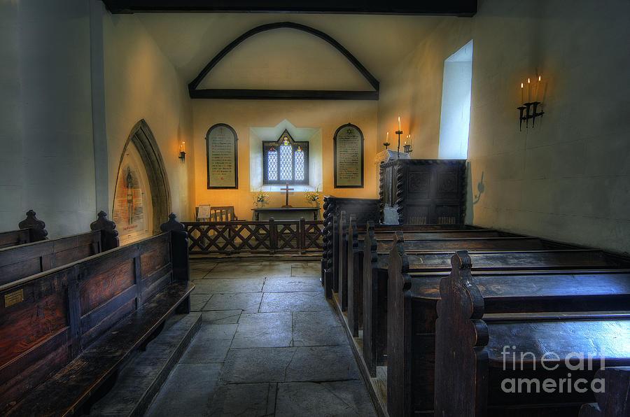 Church Photograph - Candle Church by Ian Mitchell