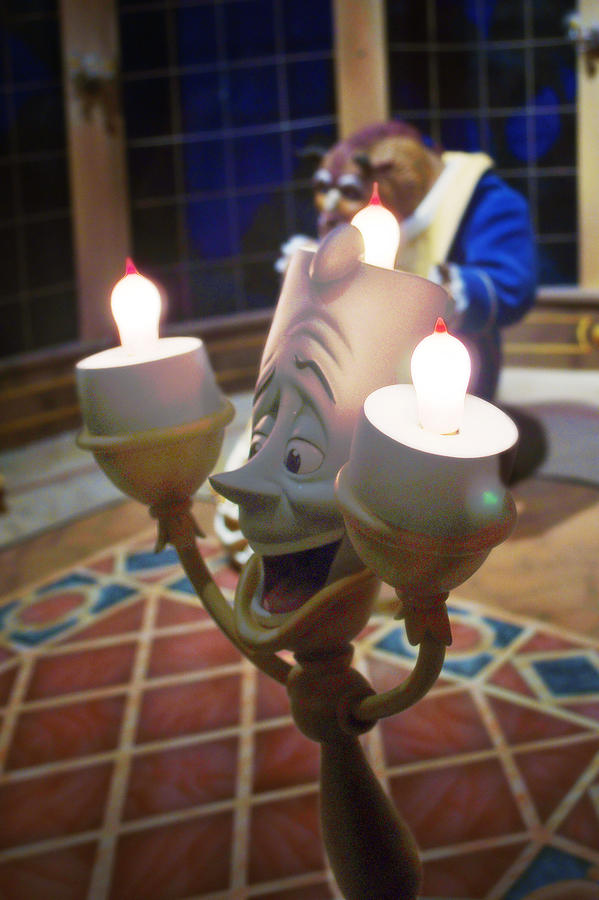 Disney Photograph - Candle Light by Ryan Crane