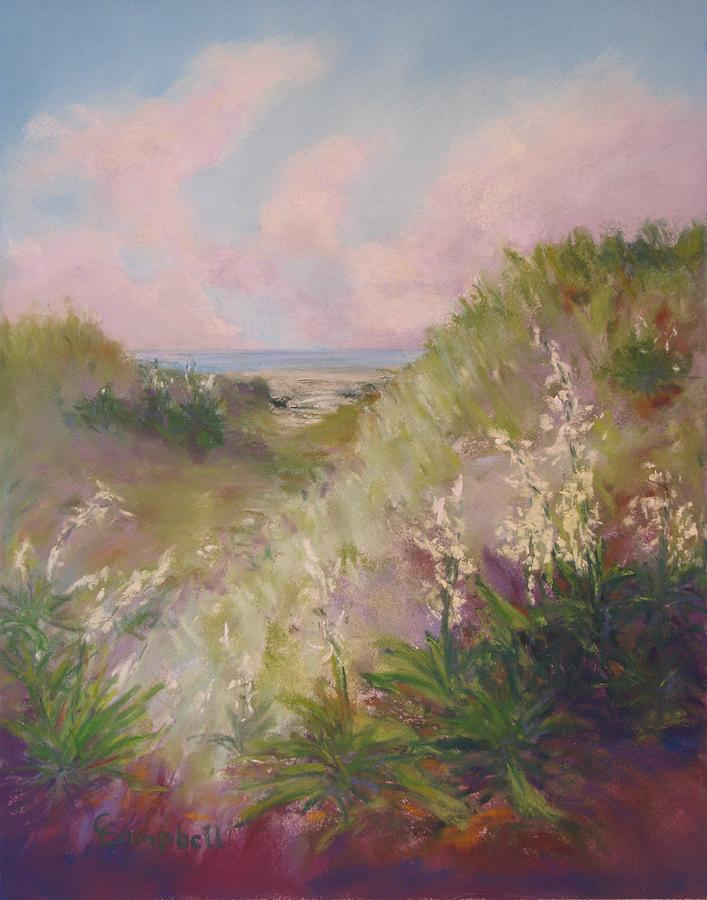 Landscape Painting - Candles in the Wind by Cecelia Campbell