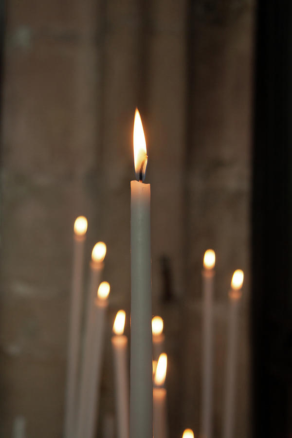 Candles Photograph by Martine Roch