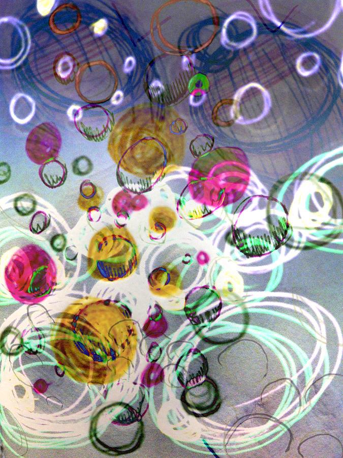 Candy Digital Art - Candy Bowl by Robert M Cooper