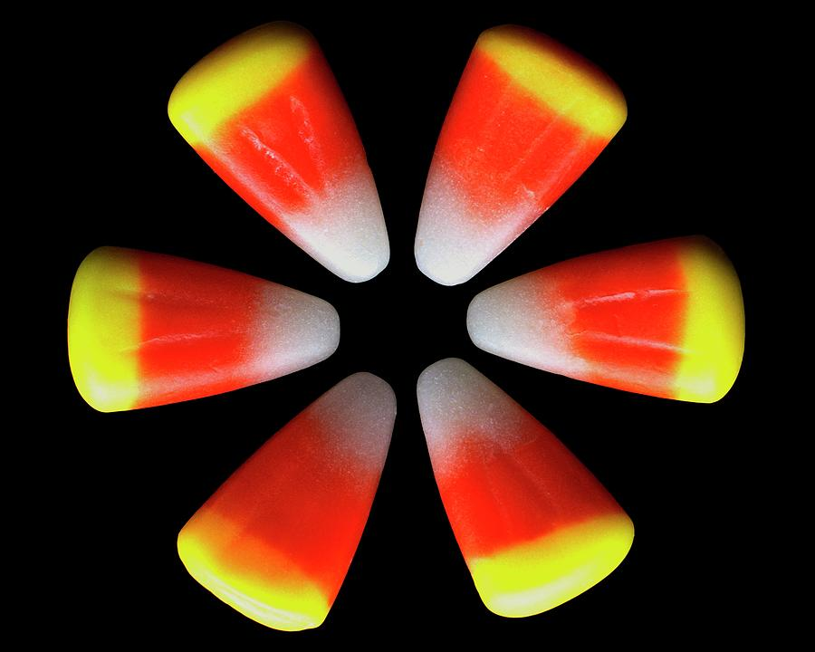 Candy Corn Photograph by Romulo Yanes