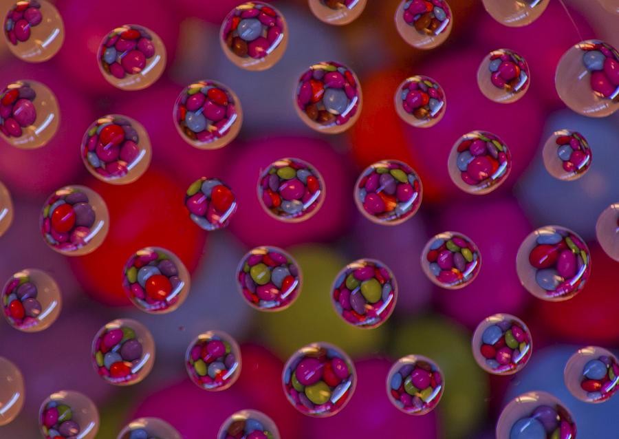 Sweets Digital Art - Candy Drops by Brendan Quinn