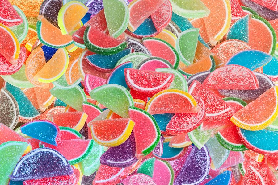 Mullins Digital Art - Candy Fruit by Alixandra Mullins