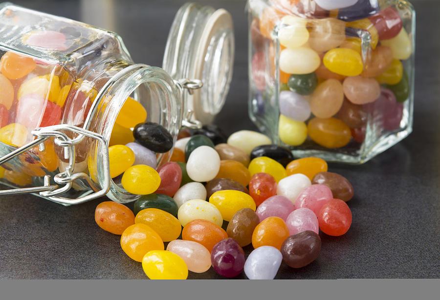 Candy In A Mason Jar Photograph by Freila