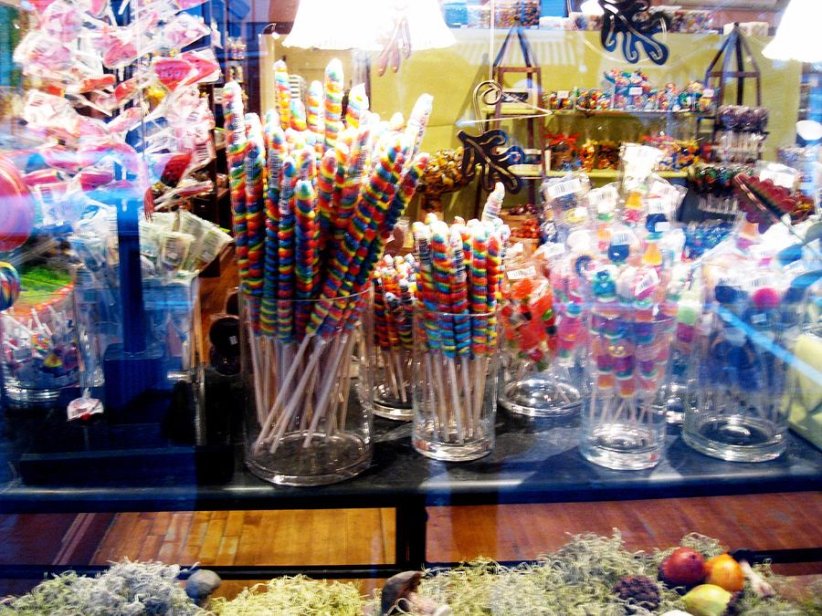 Candy Photograph - Candy Store 2 by Will Boutin Photos