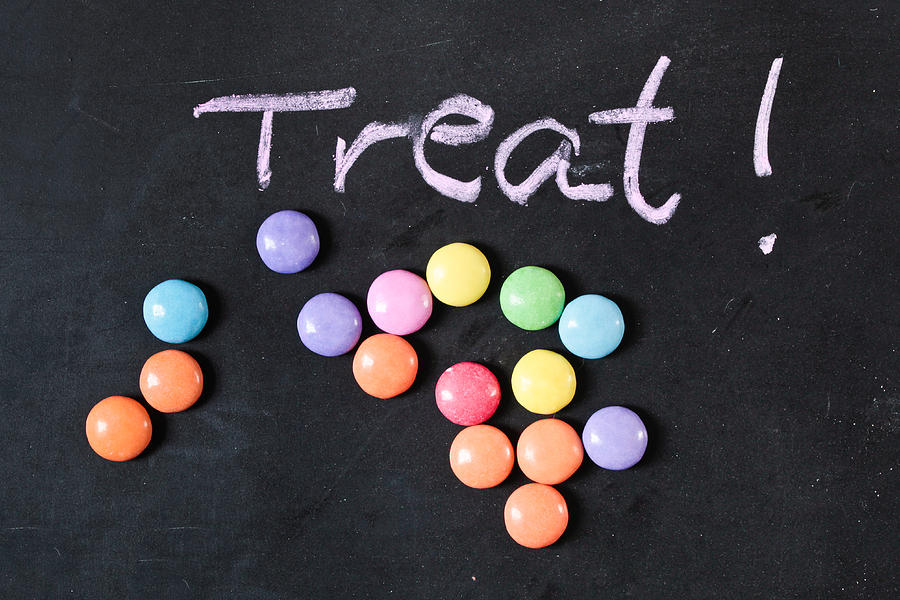 Background Photograph - Candy Treat by Tom Gowanlock