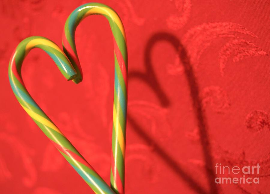 Candycane Heart by Kerri Mortenson