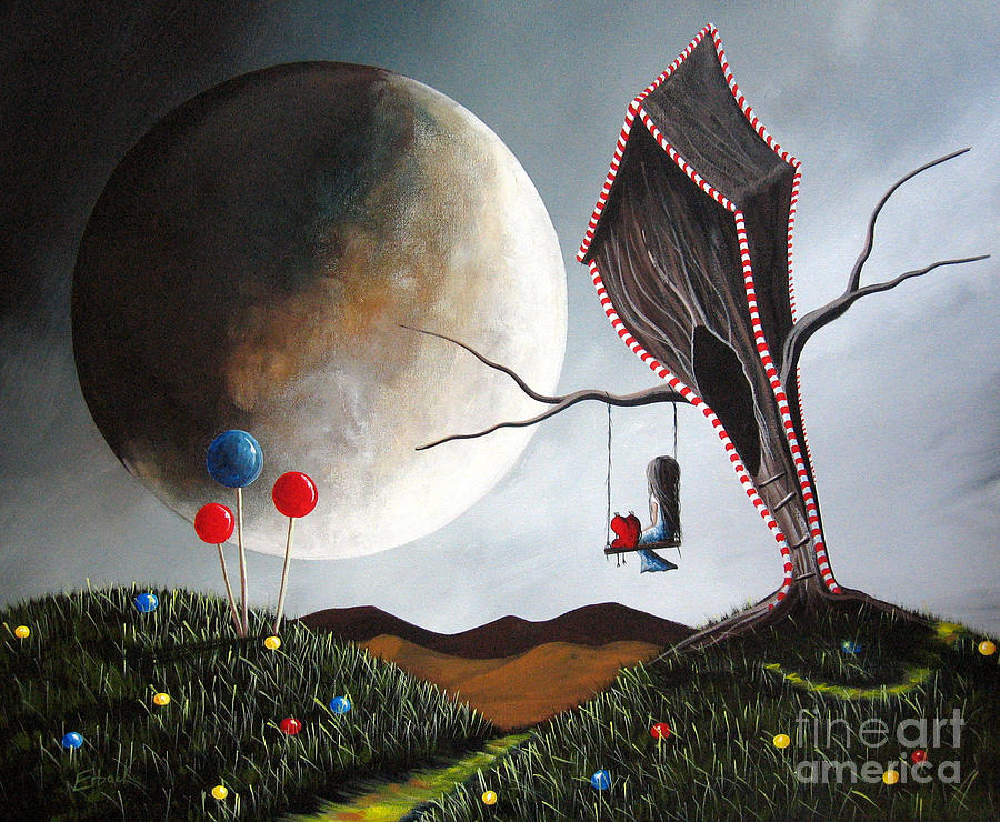 Candyland By Shawna Erback Painting By Erback Art