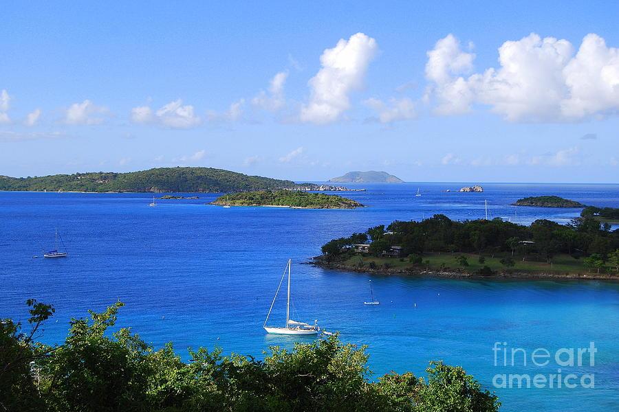 Caneel Bay In St. John In The U. S. Virgin Islands Photograph