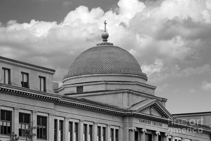 Buffalo Photograph - Canisius College Old Main by University Icons