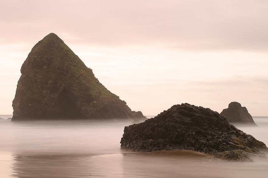 Cannon Beach Photograph - Cannon Beach - 2 by Maxwell Amaro