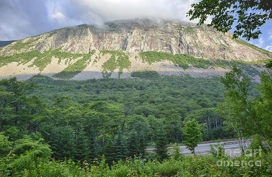 Franconia Notch Parkway Photograph - Cannon Cliff - Franconia Notch State Park New Hampshire Usa  by Erin Paul Donovan
