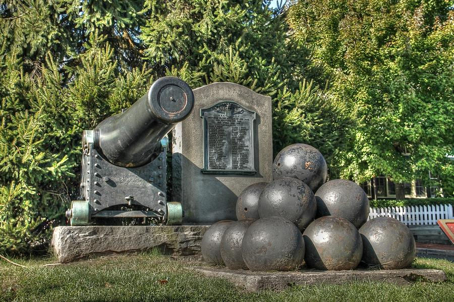 Cannon Photograph - Cannon by Lisa Hurylovich