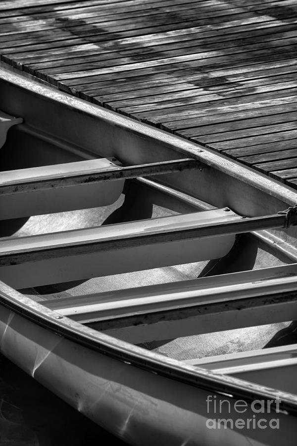 Canoe Photograph - Canoe 2 by Jeff Breiman