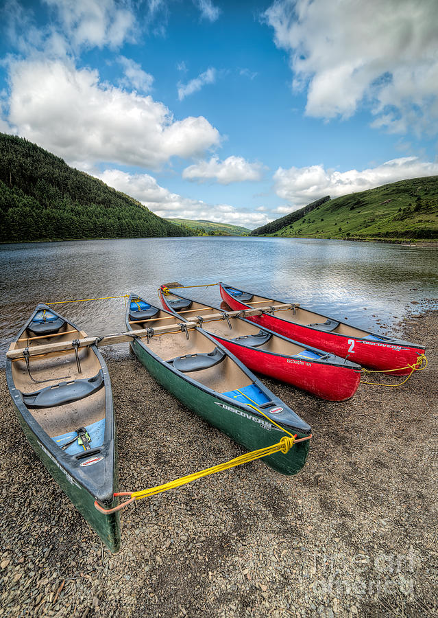 Betws Y Coed Photograph - Canoe Break by Adrian Evans