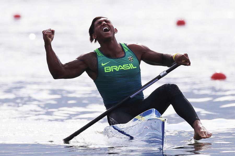 Canoe Sprint - Olympics Day 11 Photograph by Tom Pennington