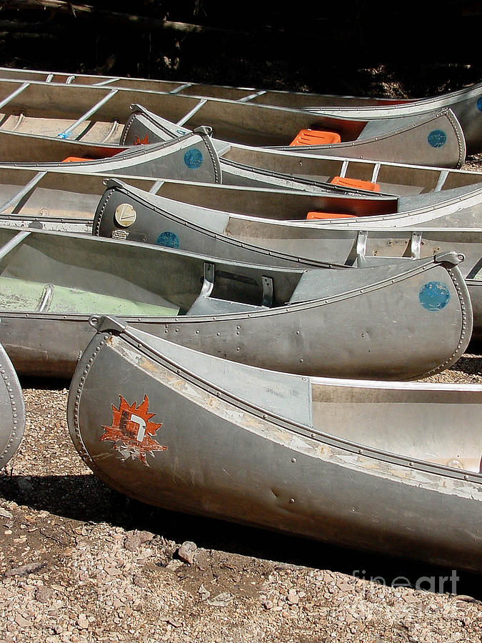 Canoes Photograph - Canoes 143 by Gary Gingrich Galleries