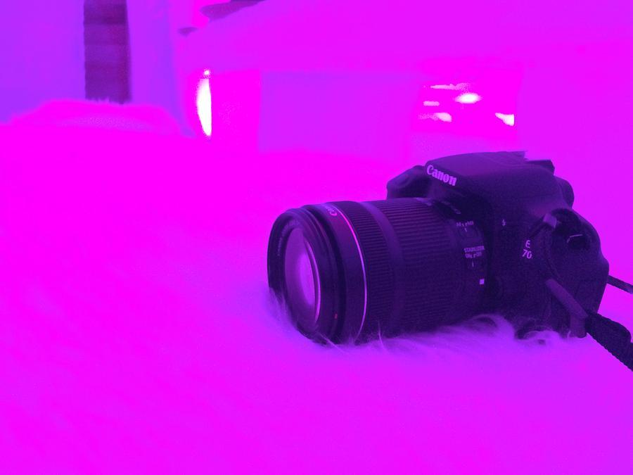 Camera Photograph - Canon  by Ankeeta Bansal