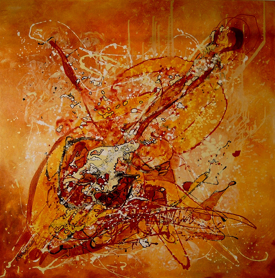 Canta Un Stradivarius Painting by Elena Bissinger