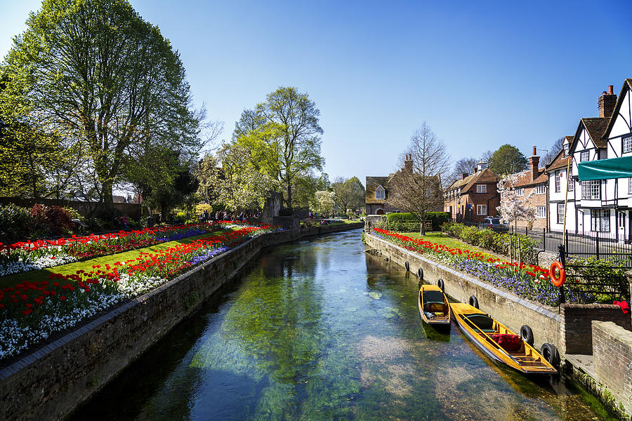 Canterbury Canal Photograph by NeonJellyfish