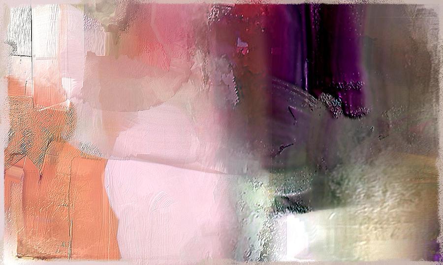 Canterbury Purple Painting by Davina Nicholas
