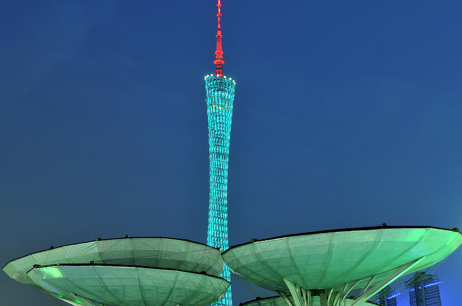 Canton Tower Photograph by Huang Xin