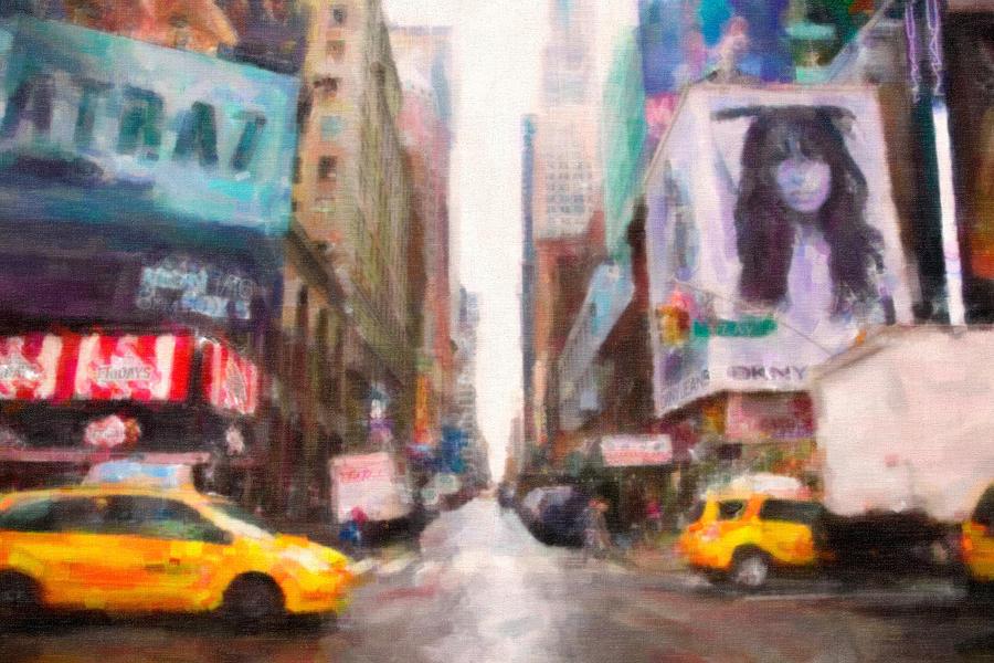 New York Photograph - Canvas Roads by Emmanouil Klimis