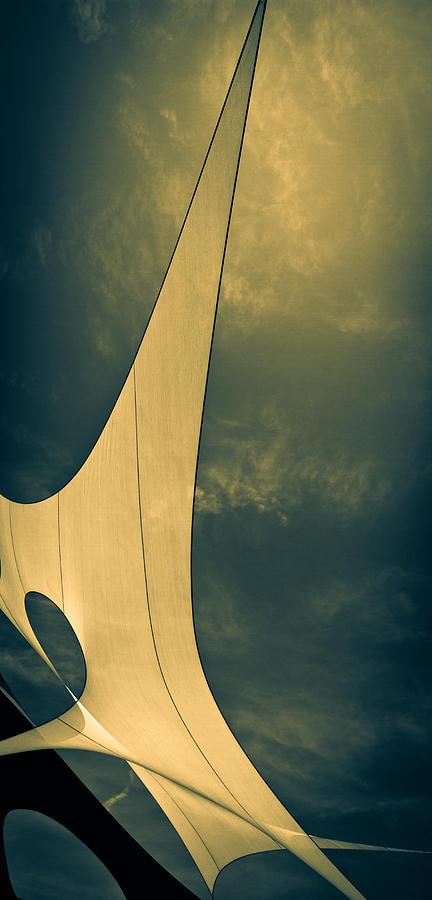 Abstract Photograph - Canvas Sky by Bob Orsillo