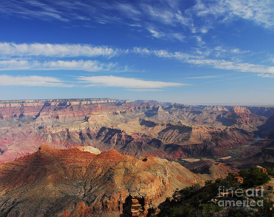 Grand Canyon Photograph - Canyon Colors 1 by Mel Steinhauer