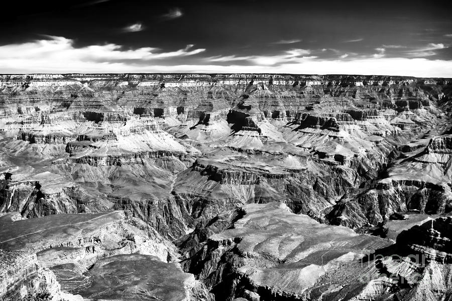 Canyon Craters Photograph - Canyon Craters by John Rizzuto