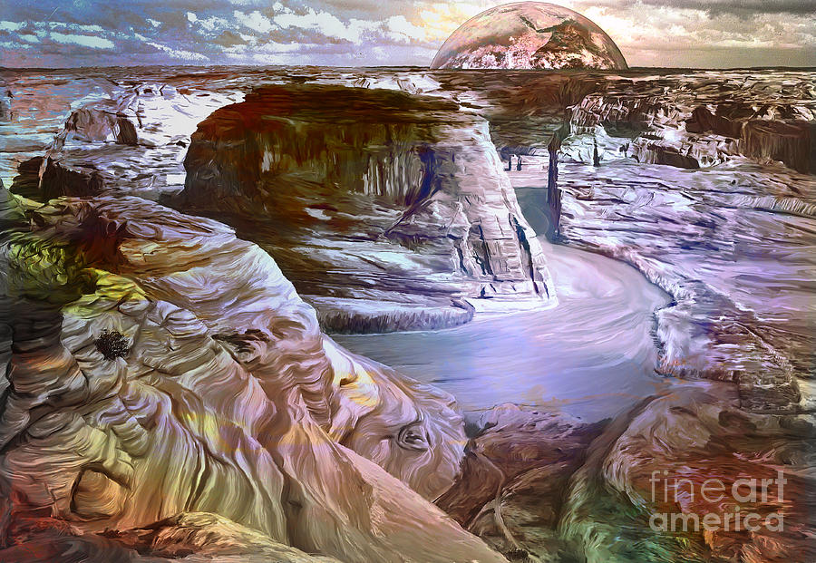 Canyon Painting - Canyon De Chelly National Monument by Andrzej Szczerski