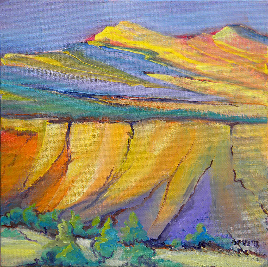 Canyon Painting - Canyon Dreams 33 by Pam Van Londen