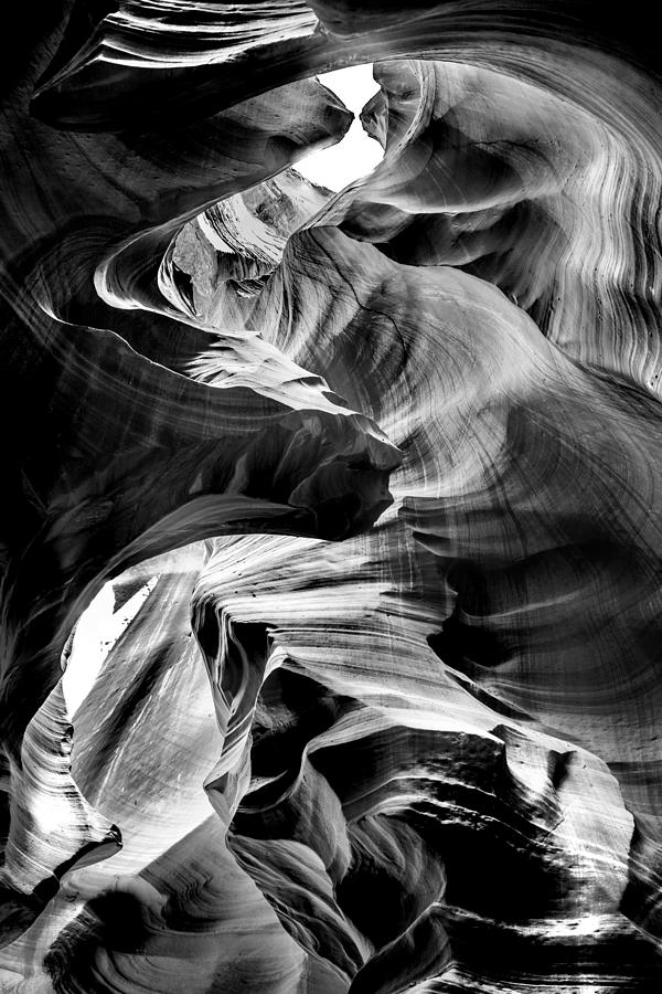 Antelope Canyon Photograph - Canyon Flow by Az Jackson