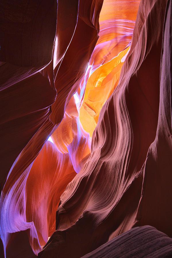 Canyon in Pastel by Brad Brizek