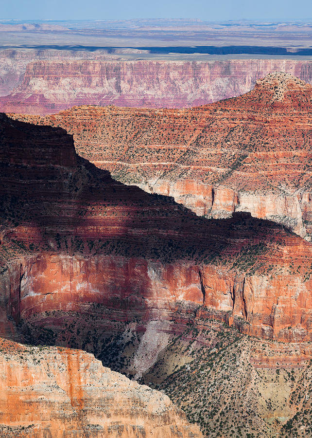 Grand Canyon Photograph - Canyon Layers by Dave Bowman
