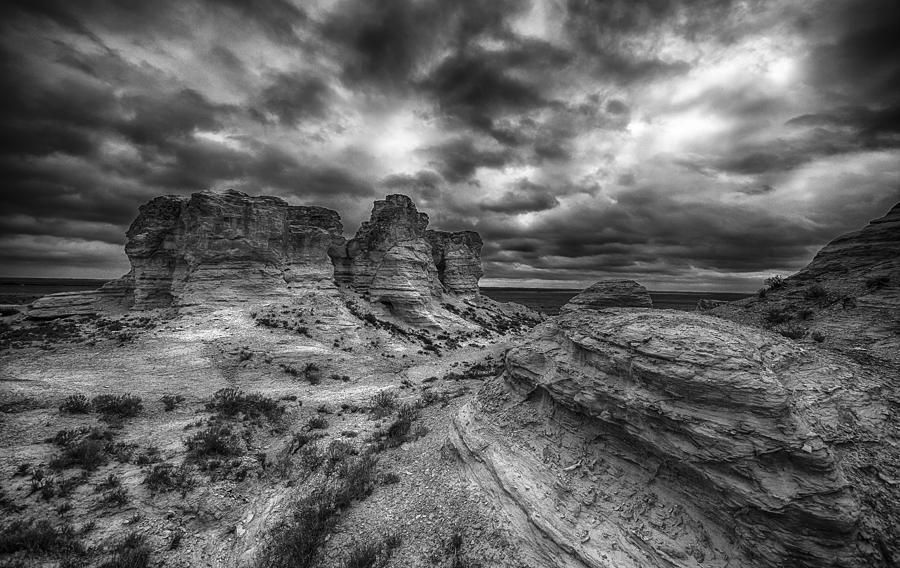 Landscape Photograph - Canyon Light and Clouds by Garett Gabriel