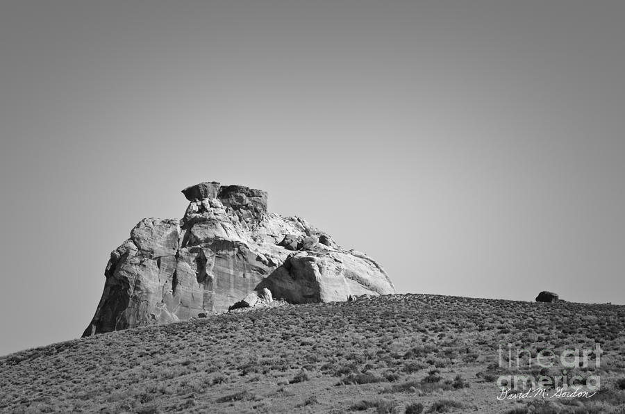Black Photograph - Canyon Point Utah IIi by Dave Gordon