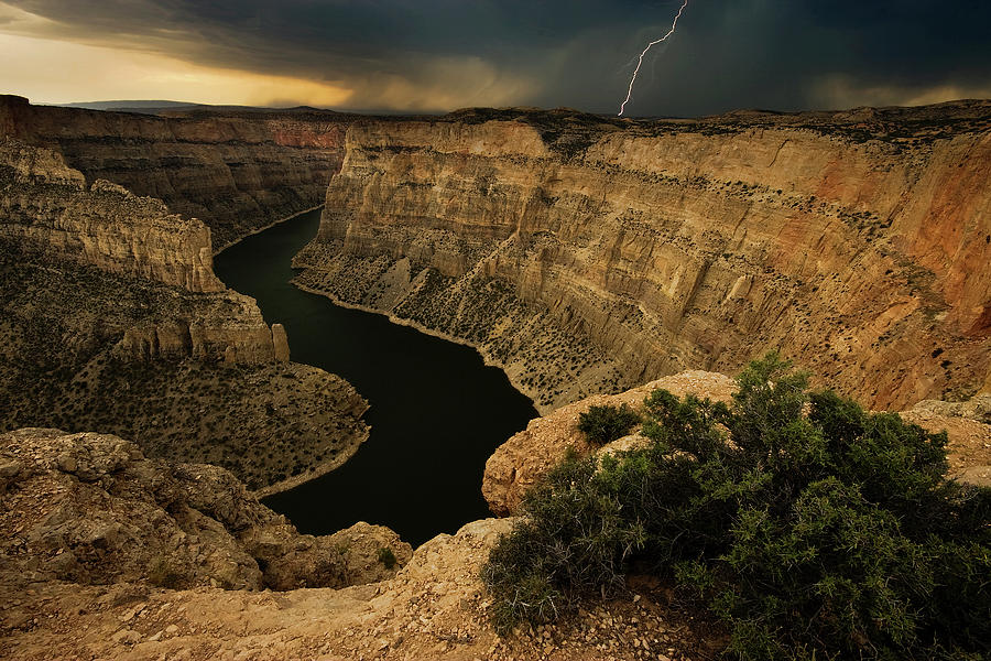 Canyon Photograph - Canyon Storm by Doug Roane
