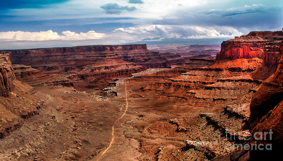 Rock Formations Photograph - Canyonland by Robert Bales