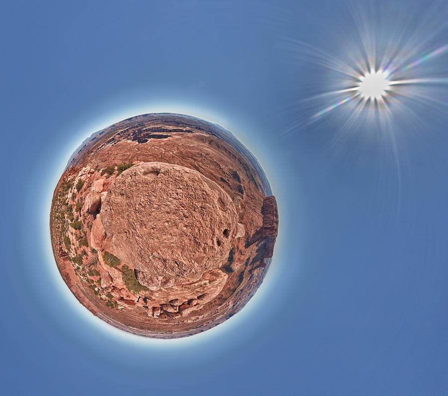 360 Photograph - Canyonlands Little Planet by Juan Carlos Diaz Parra