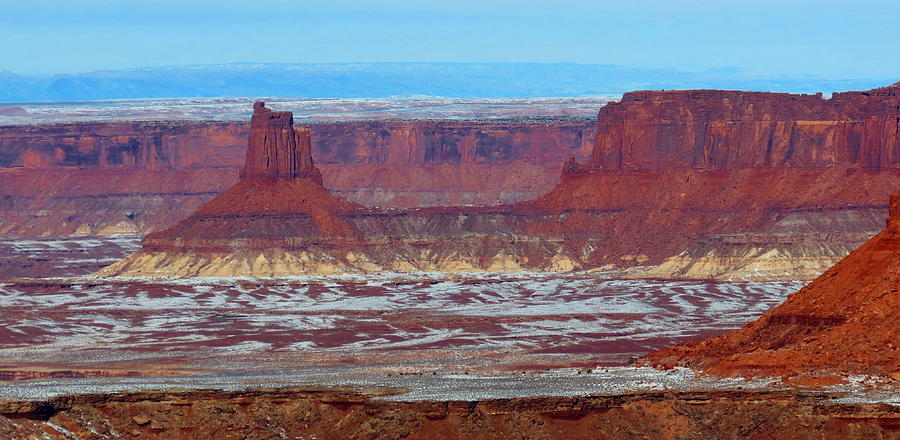 Canyonlands Winterscape Photograph by Alex  Call