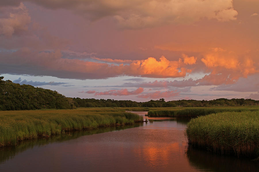 Marsh Photograph - Cape Cod Bells Neck  by Juergen Roth