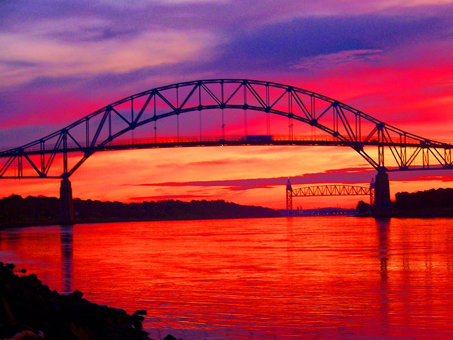 Cape Cod Canal Colors Photograph By John Doble