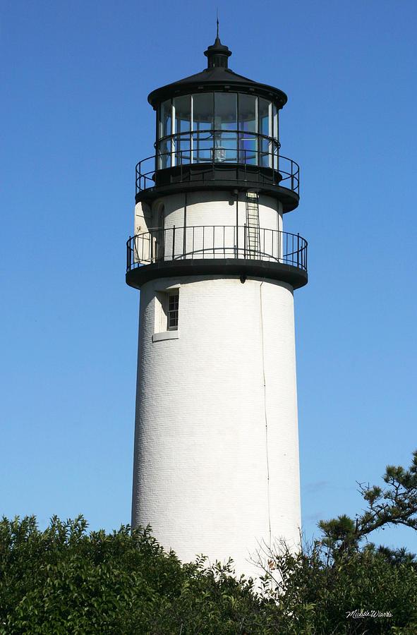 Truro Photograph - Cape Cod Highland Lighthouse by Michelle Wiarda