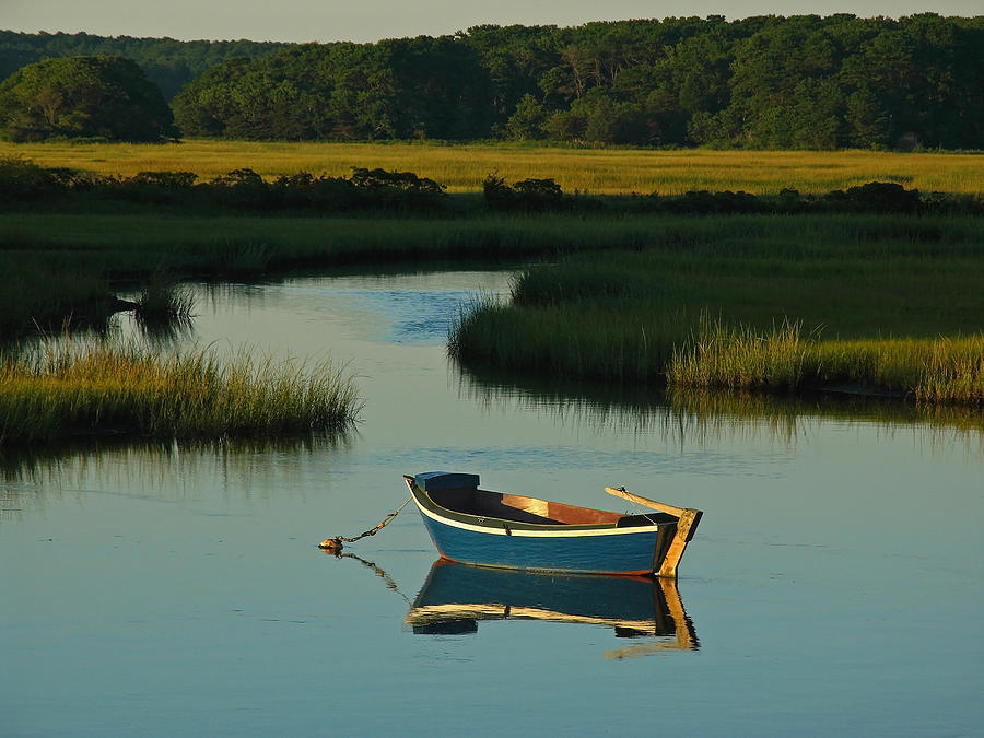 Blue Photograph - Cape Cod Quietude by Juergen Roth