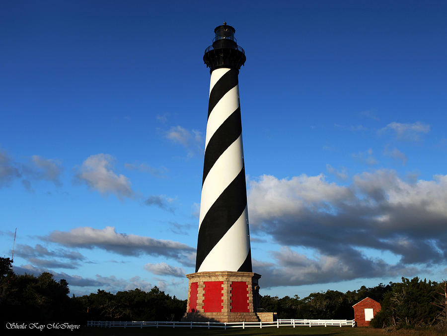 Cape Hatteras Lighthouse by Sheila Kay McIntyre