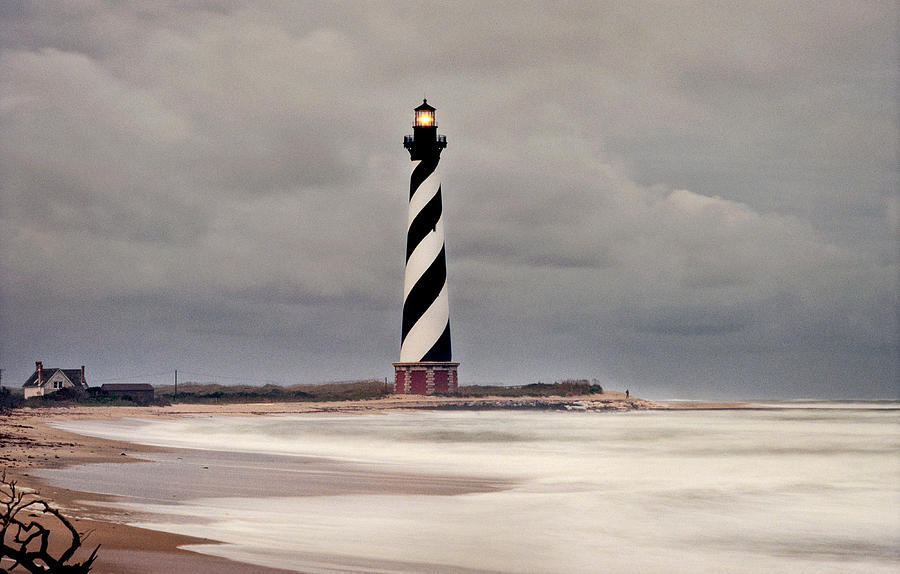 Lighthouse Photograph - Cape Hatteras Lighthouse by William Britten