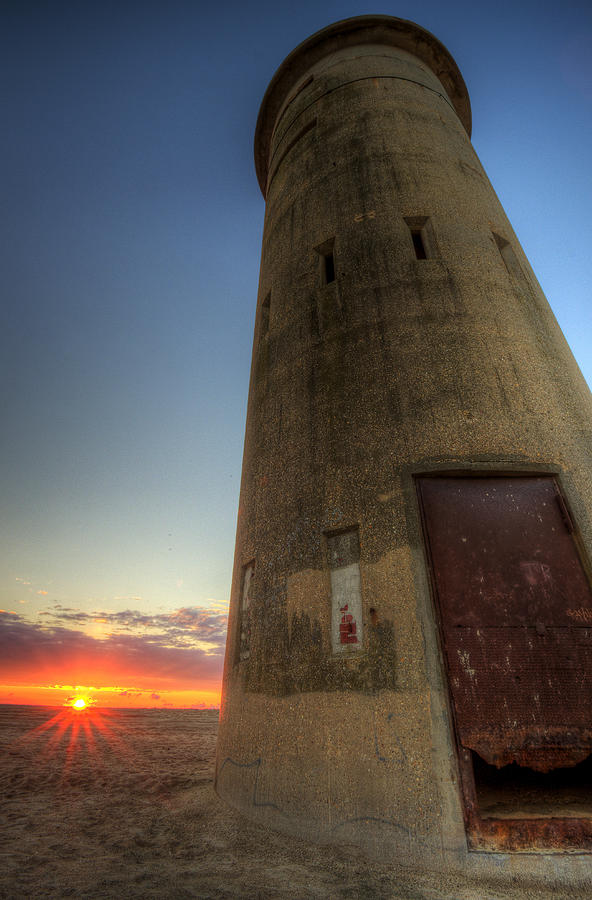 Rehoboth Beach Photograph - Cape Henlopen Tower by David Dufresne
