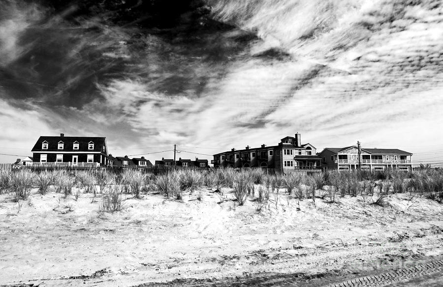 Cape May Photograph - Cape May Beach Houses by John Rizzuto